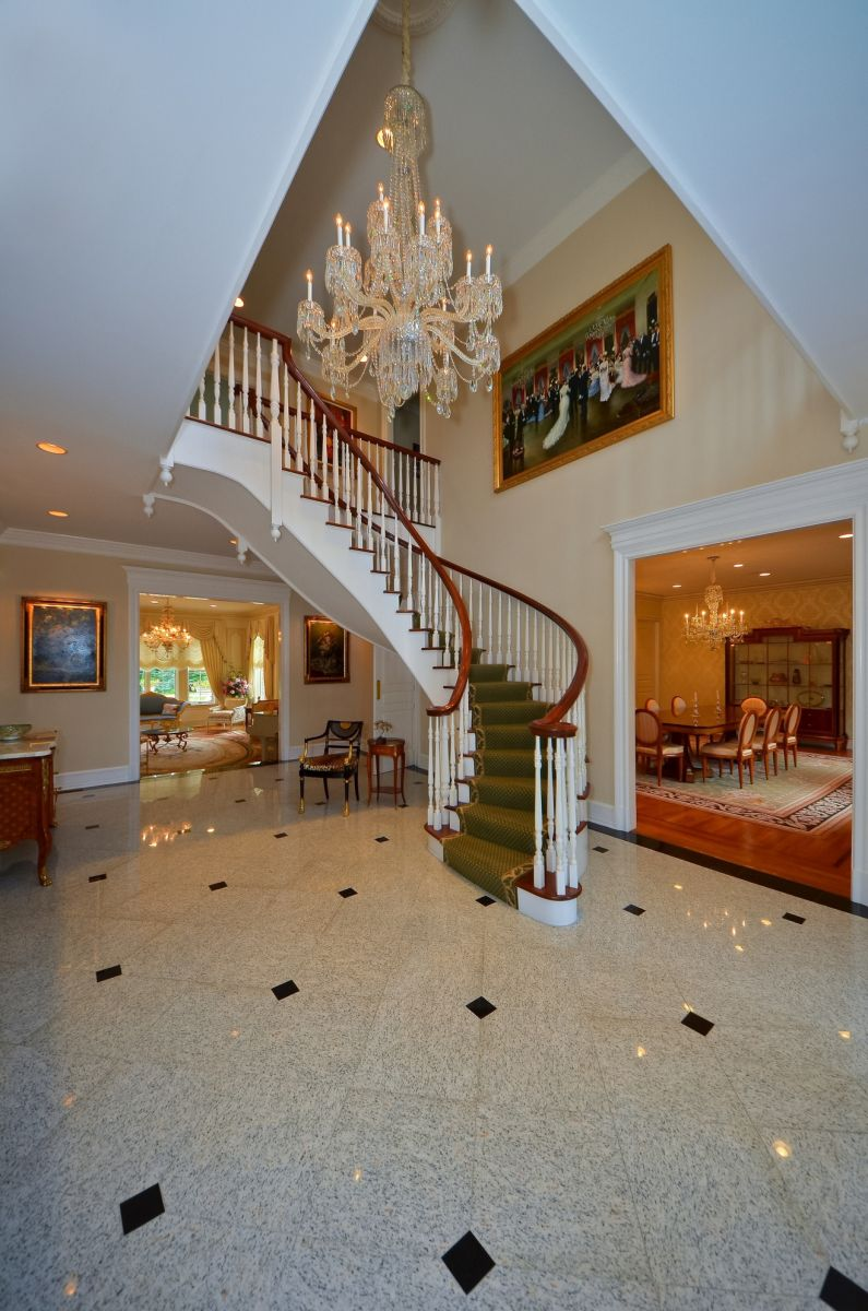 Grand Foyer and Spiral Staircase