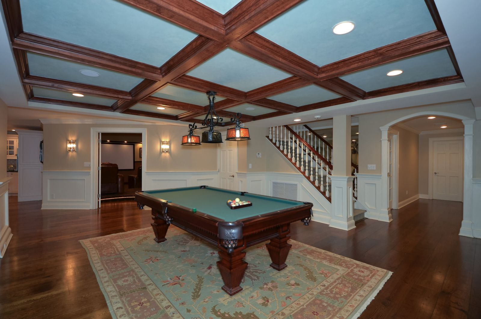 Billiard & Media Rooms
